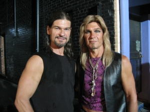 June 25 2009 Don and Patrick Swayze Powder Blue